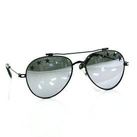 ジバンシィ サングラス 58□17 145 ブラック プラスチック GIVENCHY レディース メンズ 【中古】【定番人気】 - y14024