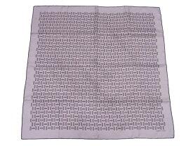 エルメス HERMES スカーフ カレ Hロゴ グレーxブラウン 100% シルク レディース 送料無料【中古】【おすすめ】 - e47764a