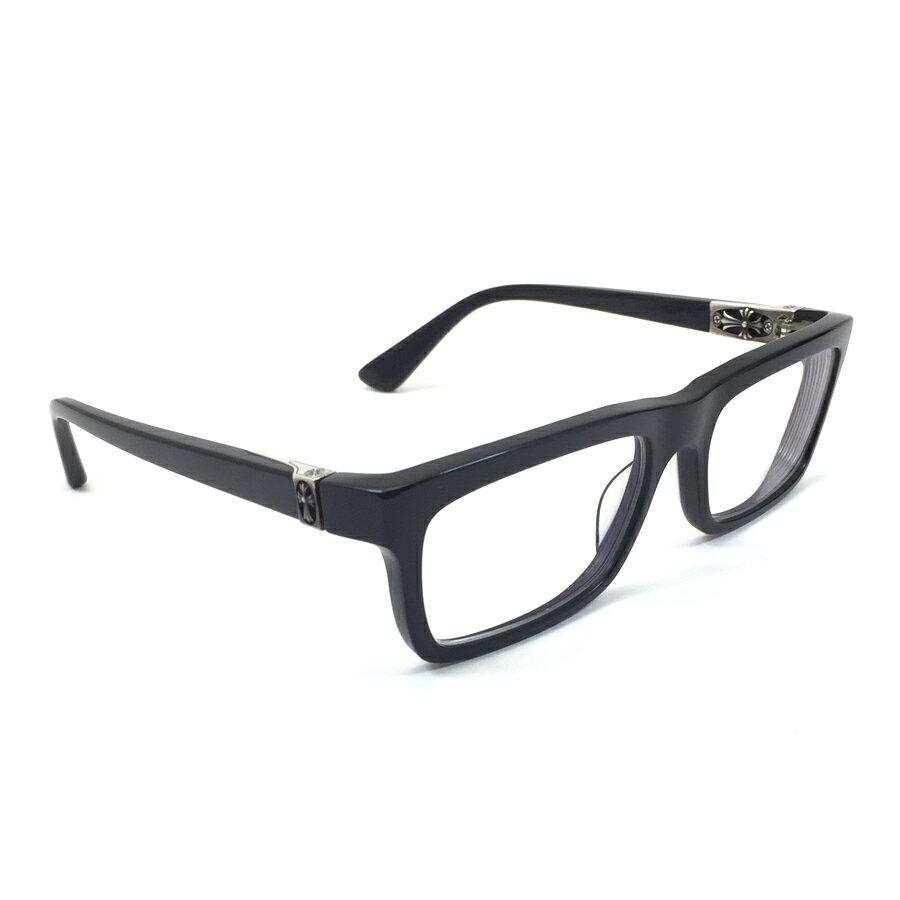 クロムハーツ Chrome Hearts 小物(アパレル系) PENETRANUS 度入り プラスチックxシルバー925 眼鏡 メンズ 【中古】【定番人気】 - v41790