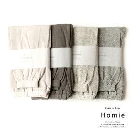 Homie Cotton Linen Summer Leggins コットン リネン サマーレギンス HL-002 靴下 HEAVENLY 日本製 綿 麻