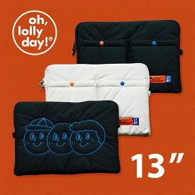 O,LD! X Sweetch Laptop pouch 13インチ oh, lolly day! 韓国 ブランド パソコンケース ノートパソコン ケース macbook pro パソコンバッグ PCケース PCバッグ 11.6 13.3 インチ 軽量 収納 大容量 雑貨 オーロリーデイ かわいい おしゃれ old 日本 販売 送料無料