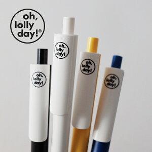 【合計1,100円以上で送料無料】O,LD! Logo Pen oh, lolly day ボールペン ペン ブサかわくん モンナニ レディース メンズ 韓国 韓国ブランド pretec スイス オーロリーデイ おしゃれ oh lolly day オー ロリ