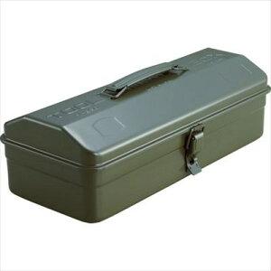 トラスコ Y-350-OD 山型工具箱 373X164X124 OD色| 工具箱 道具箱 ツールケース 収納 BOX 車載 持ち運び【アストロプロダクツ】