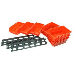AP 8PC プラスチックパーツトレー 小【小物入れ 収納ボックス】【BOX 箱 パーツ入れ パーツ整理 ケース】【アストロプロダクツ】