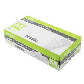 AP 使い捨てビニール手袋 M (100枚入) | 衛生 粉なし 掃除 手洗い 衛生用品 左右両用型 使い捨て ゴム手袋【アストロプロダクツ】