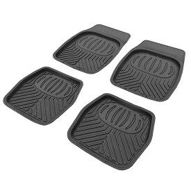 AP 立体型カーフロアマットセット(4枚組)【車内 汚れ 内装 足元 カーマット 】【アストロプロダクツ】