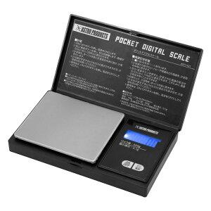AP ポケットデジタルスケール | デジタルスケール 計量器 計量 計り 電子 デジタル はかり LED コンパクト 電子はかり 風袋引き 単4乾電池【アストロプロダクツ】