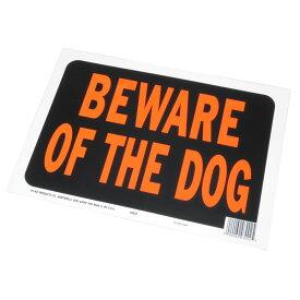 AP BEWARE OF THE DOG プラスチック看板【英語看板 プレート サイン パネル】【アメリカン 猛犬注意】【アストロプロダクツ】