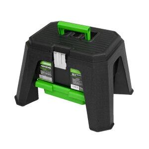 AP スツール ボックス SB814【イス 椅子 工具箱 作業箱 ケース 収納ケース】【収納 座る】【アストロプロダクツ】