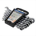AP フレキシブルギアレンチセット(7本組) | レンチ 作業 工具 DIY ボルト ナット 車 メンテナンス セット【アスト…