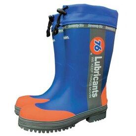 76 SB-760-B-XL セーフティブーツ ブルー XL【長靴 安全靴 レインブーツ】【ナナロク 76】