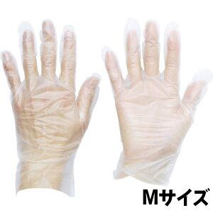 トラスコ TGTPE035M 熱可塑性エラストマー (TPE) 使い捨て手袋M 100枚 | 使い捨て ゴム手袋 衛生 食品 掃除 食品衛生法適合品 左右両用型【アストロプロダクツ】