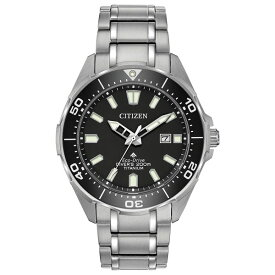 シチズン レディース 腕時計 アクセサリー Eco-Drive Men's Promaster Diver Super Titanium Bracelet Watch 44mm No Color