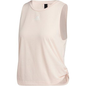 アディダス レディース シャツ トップス adidas Women's Double Twist Side Knot Tank Top Linen