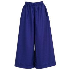 ダニエラ グレジス レディース カジュアルパンツ ボトムス Daniela Gregis Pants Straight Elastic Waist Wool ElectricBlue