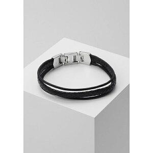 フォッシル メンズ ブレスレット・バングル・アンクレット アクセサリー MENS DRESS - Bracelet - black