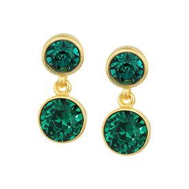 ケネスジェイレーン レディース ピアス&イヤリング アクセサリー Double Bling Earrings Emerald