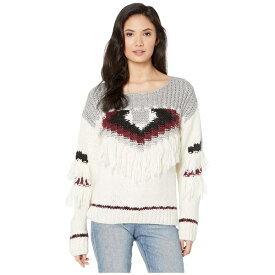 カレント エリオット レディース ニット&セーター アウター The Rosemary Sweater Full Cream