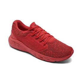 アンダーアーマー メンズ スニーカー シューズ Men's Vantage Knit Running Sneakers from Finish Line Red