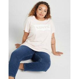リーバイス レディース Tシャツ トップス Levis Perfect Plus Size T-Shirt pink
