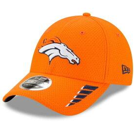 ニューエラ メンズ 帽子 アクセサリー Denver Broncos New Era Rush 9FORTY Snapback Hat Orange