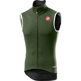 カステリ メンズ サイクリング スポーツ Perfetto RoS Vest - Men's Military Green