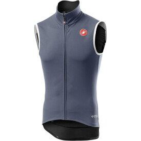 カステリ メンズ サイクリング スポーツ Perfetto RoS Vest - Men's Dark Steel Blue