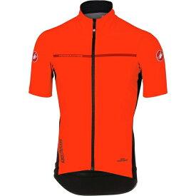 カステリ メンズ サイクリング スポーツ Perfetto Light 2 Short-Sleeve Jersey - Men's Orange