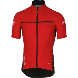 カステリ メンズ サイクリング スポーツ Perfetto Light 2 Short-Sleeve Jersey - Men's Red