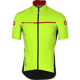 カステリ メンズ サイクリング スポーツ Perfetto Light 2 Short-Sleeve Jersey - Men's Yellow Fluo