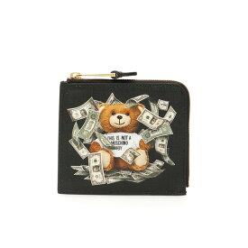 モスキーノ レディース 財布 アクセサリー Moschino Dollar Teddy Bear Wallet -