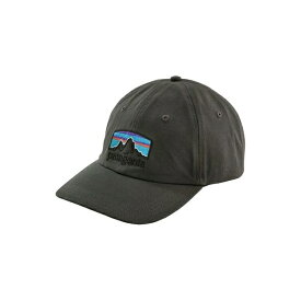 パタゴニア メンズ 帽子 アクセサリー Patagonia Men's Fitz Roy Horizons Traditional Cap ForgeGrey