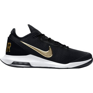 ナイキ メンズ テニス スポーツ Nike Men's Air Max Wildcard Tennis Shoes Black/Gold