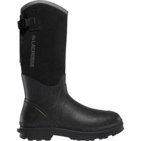ラクロス メンズ ブーツ&レインブーツ シューズ LaCrosse Men's Alpha Range 14'' Insulated Waterproof Work Boots Black