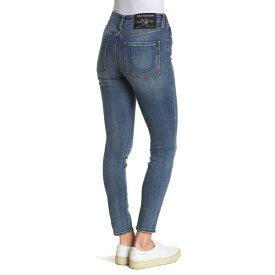 トゥルーレリジョン レディース デニムパンツ ボトムス Jennie Mid Rise Skinny Jeans WHISKEY CR