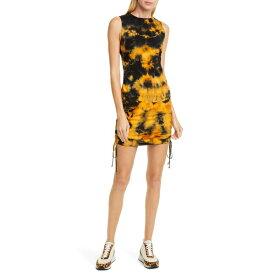 コットンシチズン レディース ワンピース トップス COTTON CITIZEN Lisbon Tie Dye Tank Dress Tangerine Current