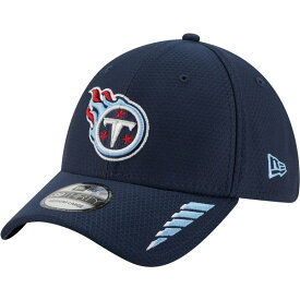ニューエラ メンズ 帽子 アクセサリー New Era Men's Tennessee Titans Rush 39THIRTY Cap Navy