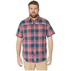 コロンビア メンズ シャツ トップス Big and Tall Leadville Ridge Yarn-Dye Short Sleeve Shirt Mountain Red Big Check