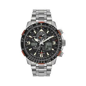 シチズン レディース 腕時計 アクセサリー Promaster Skyhawk A-T Titanium Bracelet Watch Silver
