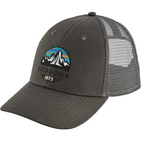 パタゴニア メンズ 帽子 アクセサリー Patagonia Men's Fitz Roy Scope Lopro Trucker Hat ForgeGrey