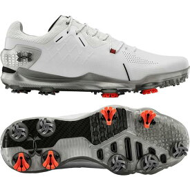 アンダーアーマー メンズ ゴルフ スポーツ Under Armour Men's Spieth 4 GTX Golf Shoes White/Black
