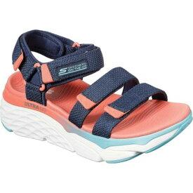 スケッチャーズ レディース スニーカー シューズ Max Cushioning Slay Sport Sandal Navy/Multi