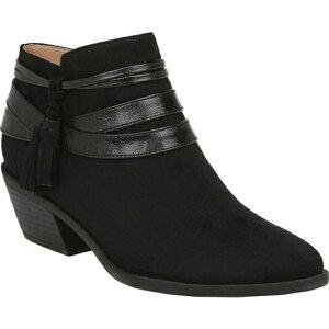 ライフストライド レディース ブーツ&レインブーツ シューズ Paloma Ankle Boot Black Microsuede