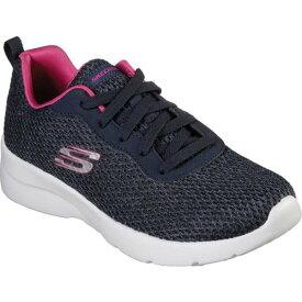 スケッチャーズ レディース スニーカー シューズ Dynamight 2.0 Quick Concept Sneaker Navy/Hot Pink