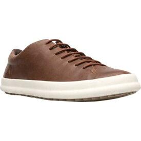 カンペール メンズ スニーカー シューズ Chasis Sport Sneaker Medium Brown Full Grain Leather
