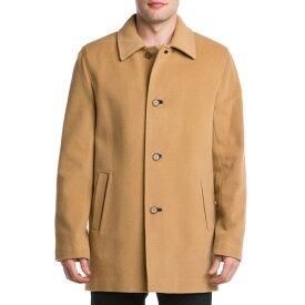 コールハーン メンズ ジャケット&ブルゾン アウター Cole Haan Wool & Cashmere-Blend Top Coat camel