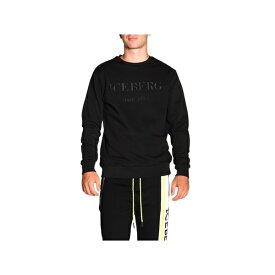 アイスバーグ メンズ ニット&セーター アウター Iceberg Sweater Sweater Men Iceberg black