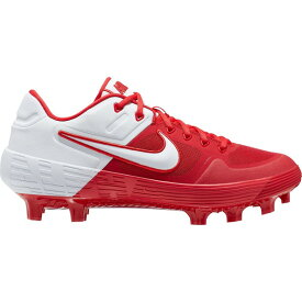 ナイキ メンズ 野球 スポーツ Nike Men's Alpha Huarache Elite 2 MCS Baseball Cleats Red/White