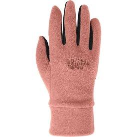 ノースフェイス メンズ 手袋 アクセサリー TKA 100 Glacier Glove Pink Clay