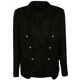 バルマン メンズ ジャケット&ブルゾン アウター Balmain Double Breasted Blazer -